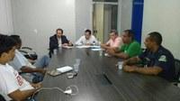 Comissão de segurança pública se reúne na Câmara Municipal